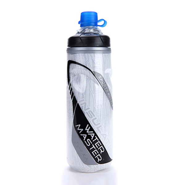 620ML Bicycle Bottle Outdoor Sport Keep Cold Bottle Cycling Climbing Hiking Drink Jug Cup Warmer Bike Plastic Garrafa Agua U0090
