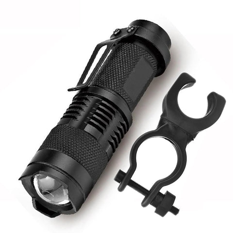 Bicycle Clip Front Light Bike Lamp Torch Flashlight Cycling Waterproof 2000lm 3 Shock Resistant,Hard Led Bulbs Rechargeable