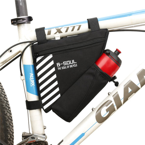 HOT! Bicycle Bag Waterproof Bike Triangle Bag Storage Mobile Phone Cycling Bag Bike Tube Pouch Holder Saddle Pannier Accessories