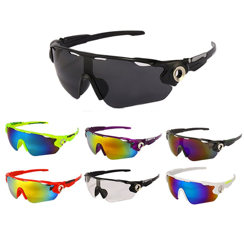 Outdoor Cycling Glasses UV400 Men Women Bicycle Goggles Glasses MTB Sports Sunglasses Fishing Running Hiking Eyewear Windproof