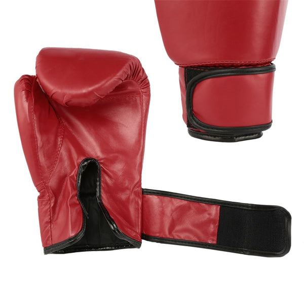 Red Adult Boxing Gloves Professional Sandbag Liner Gloves Kickboxing Gloves Pugilism Men Women Training Fighting Tool