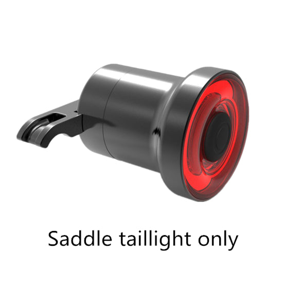 Bicycle Flashlight xlite100 Bike Rear Light Auto Start/Stop Brake Sensing IPX6 Waterproof LED Charging Cycling Taillight