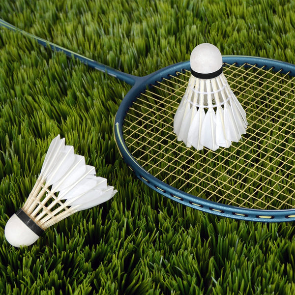 12Pcs/lot Badminton Goose Feather Shuttlecock Outdoor Sports Badminton Accessories Durable Badminton for Training Exercise