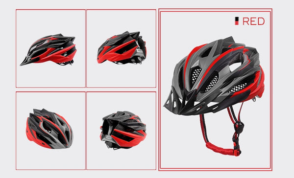 PHMAX 2020 Bicycle Cycling Helmet Ultralight EPS+PC Cover MTB Road Bike Helmet Integrally-mold Cycling Helmet Cycling Safely Cap