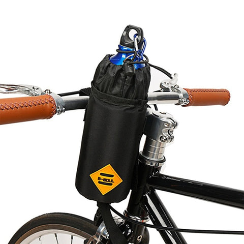 Bicycle Handlebar Bag Cycling Water Bottle Carrier Pouch MTB  Bike Kettle Bag Riding Handlebar Bag Bicycle Accessories
