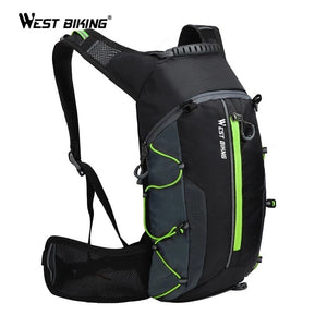 WEST BIKING Ultralight Bicycle Bag Portable Waterproof Sport Backpack 10L Outdoor Hiking Climbing Pouch Cycling Bicycle Backpack