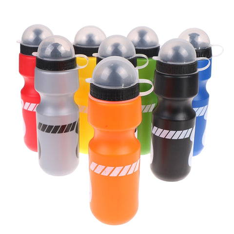 750ml outdoor hiking bike bicycle cycling drink jug water bottle w/ dust cover