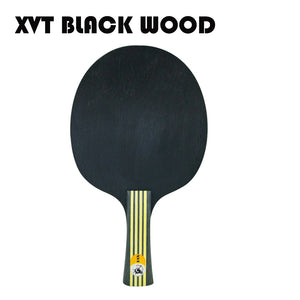 BLACK WOOD  XVT  ALL ROUND CLASSIC  Table Tennis Racket