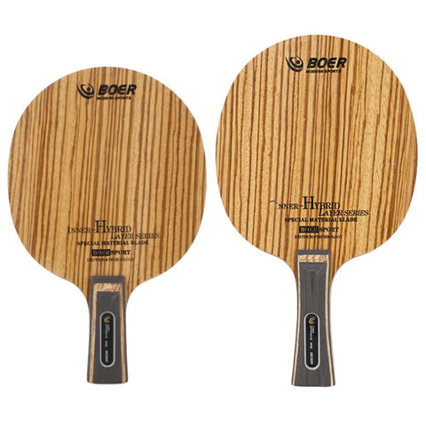 BOER 7 Ply Arylate Carbon Fiber Table Tennis Blade Lightweight Ping Pong Racket Blade
