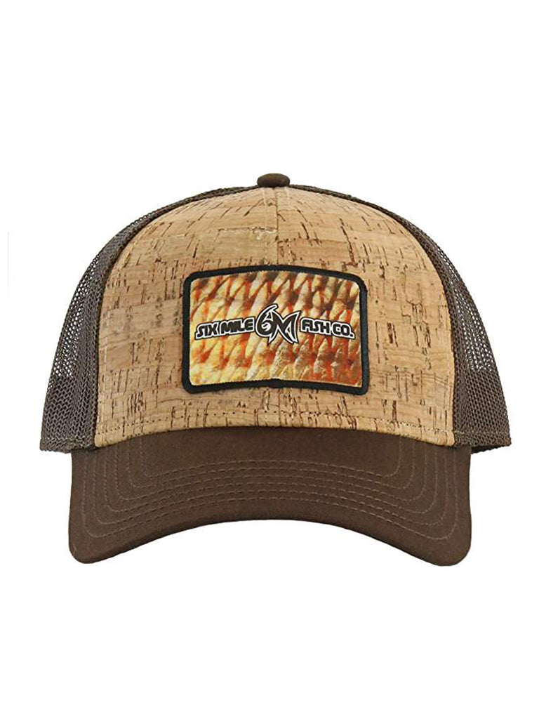 6MFC Cork Redfish Patch Hat