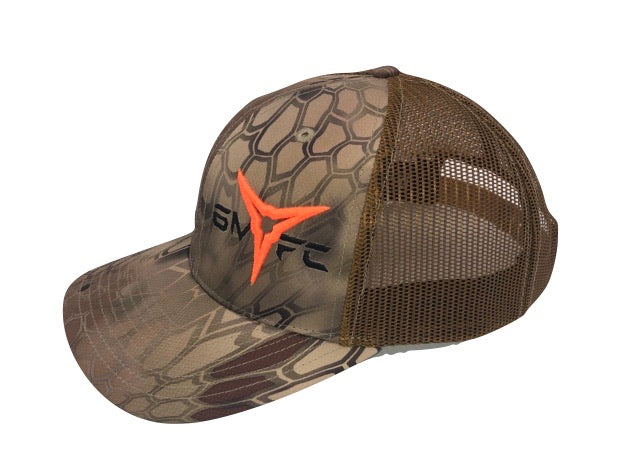 6MFC Kryptek Camo Broadhead Hat