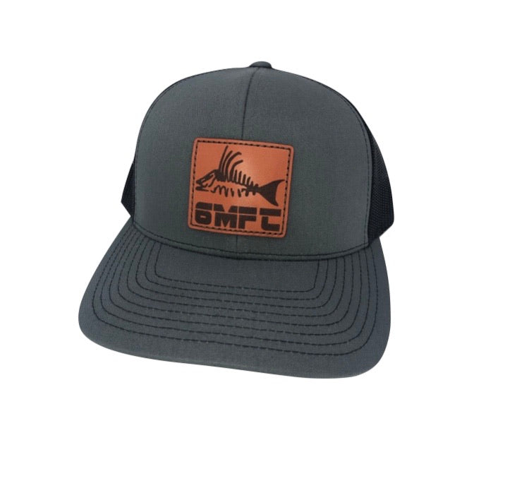 6MFC Leather Hog Fish Patch Hat