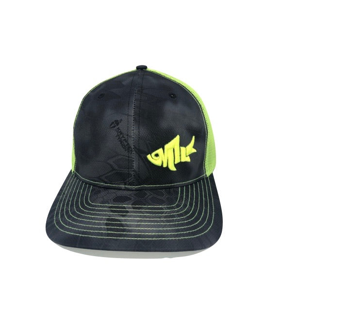 6MFC Kryptek Neon Yellow Lil Swimmer hat