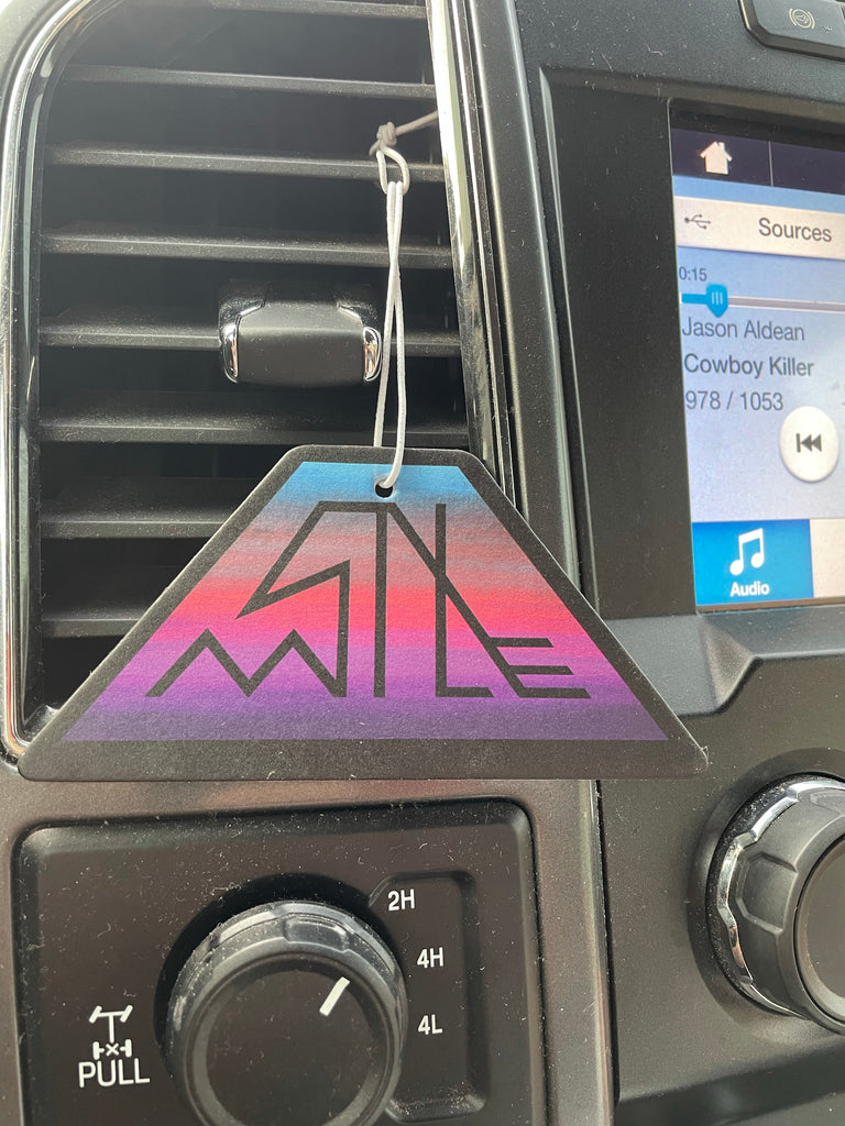Six Mile Fish Co. Apple Scent Air Freshener.