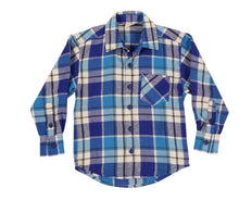 Korango check flannel shirt