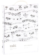 Toshi Cot Fitted Sheet