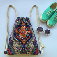 Travel Hippie Design Beach Boho Indian Indie Backpacks Bag Cute