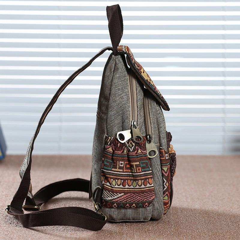 Vintage Boho Handmade Travel Backpack