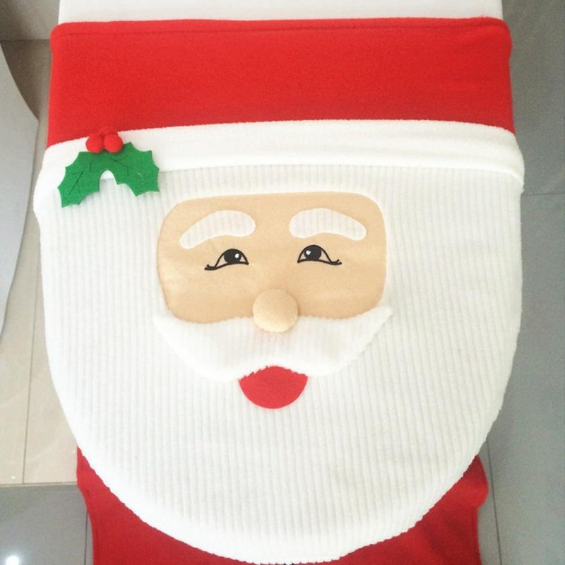 Fancy Holiday Theme Toilet Seat Cover Sets