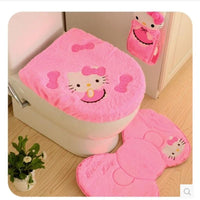 Hello kitty bathroom Toilet Set (4 pcs)