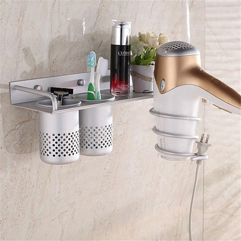 Bathroom Tools Shelf Holder Hair Flat Iron Dryer Curling Curler Beauty Tools