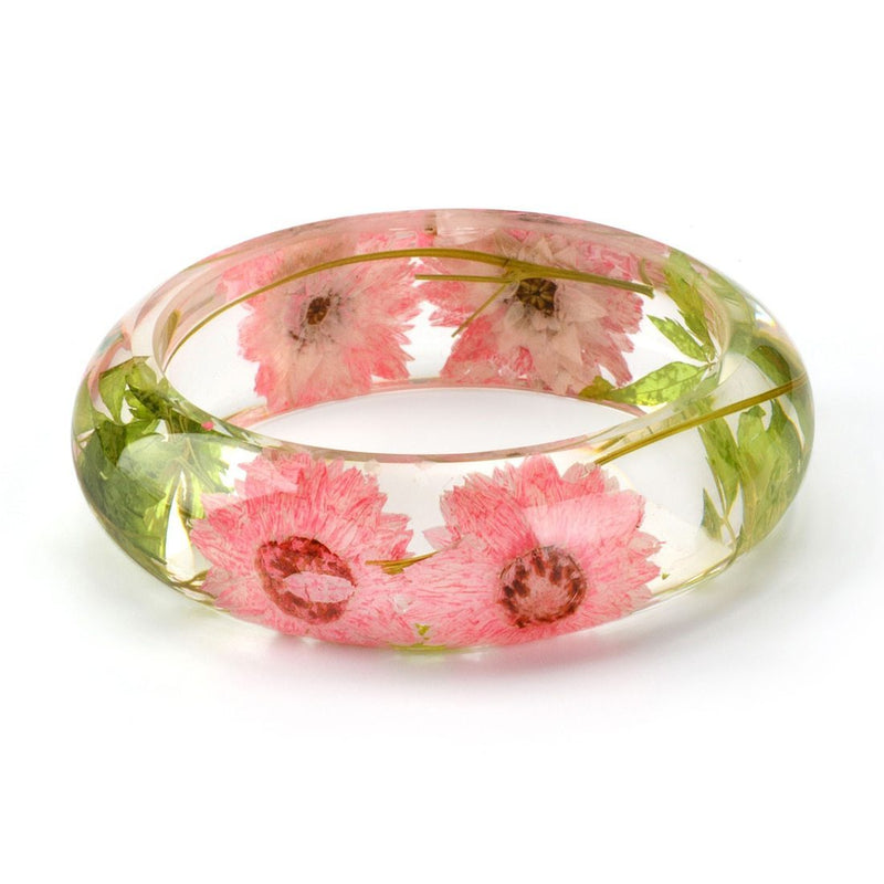 Rose Fever Clear Bracelet