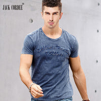 Brand Designer Cotton Cool Summer Sexy Casual Handsome T Shirt
