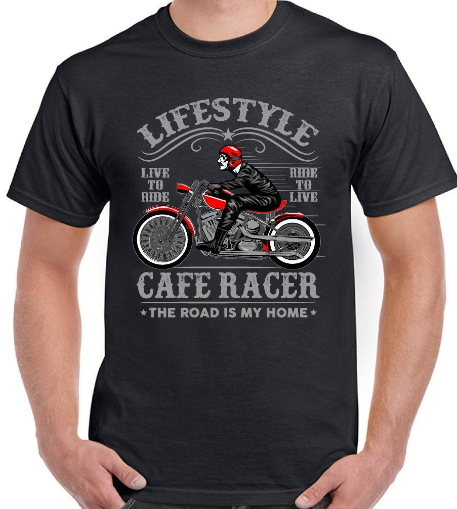 Car Racer Shirt Harley Bike Biker Vintage Retro