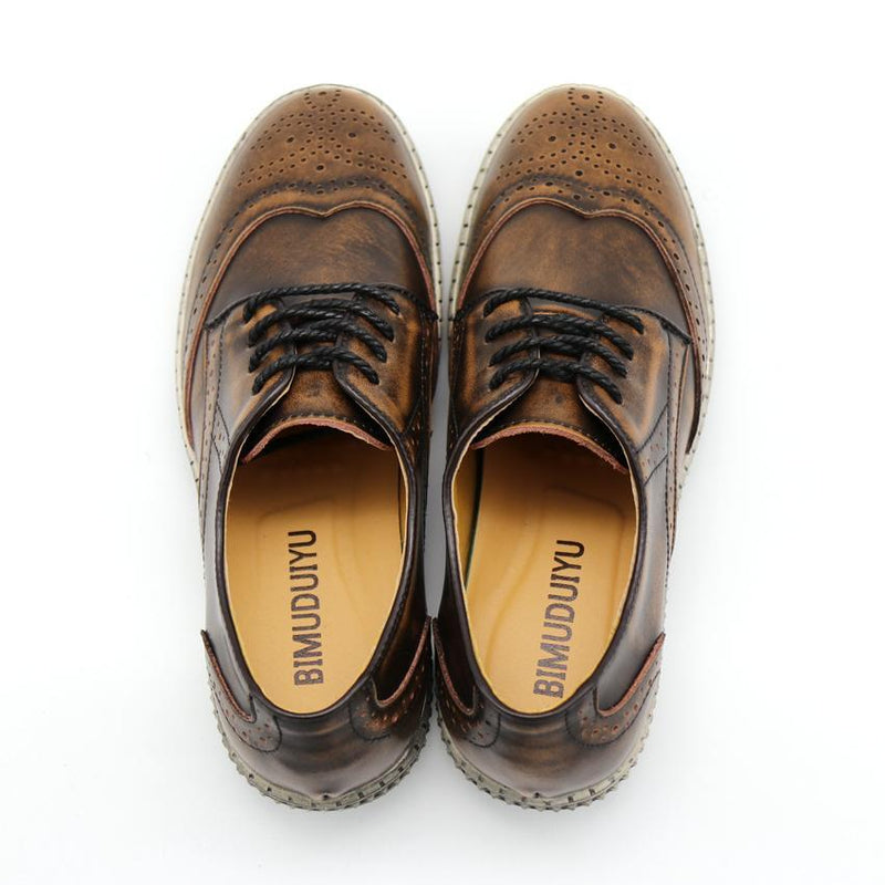 Brogue Casual Oxford Shoes