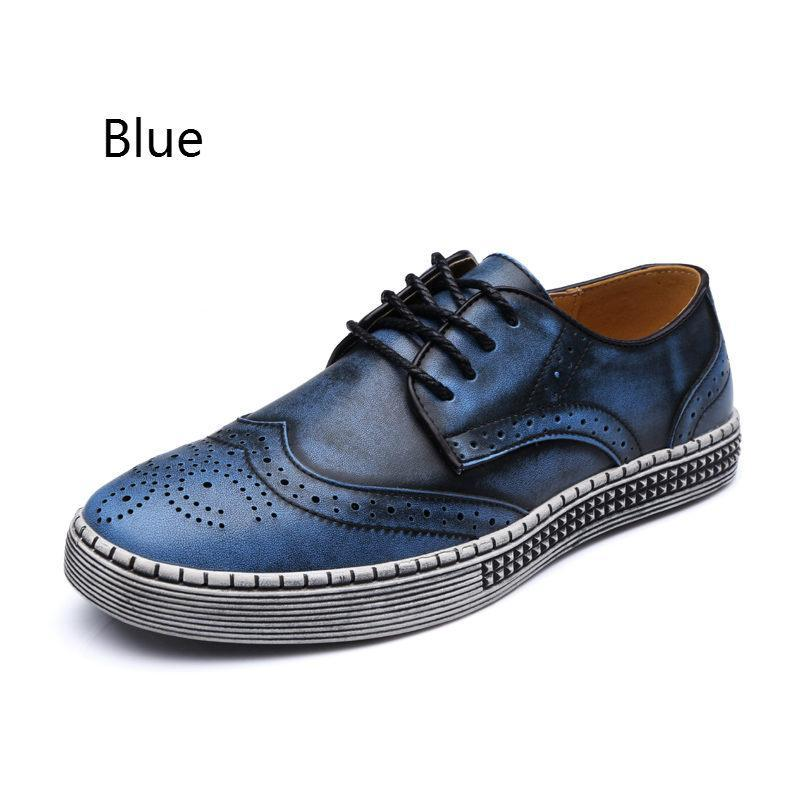 Winter Summer Brand Design Style Oxford Men Leather High Quality Cow Comfortable Classic
