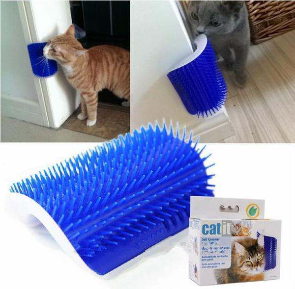Toy Scratch Pet Massage Kitten Groomer Cats Brush