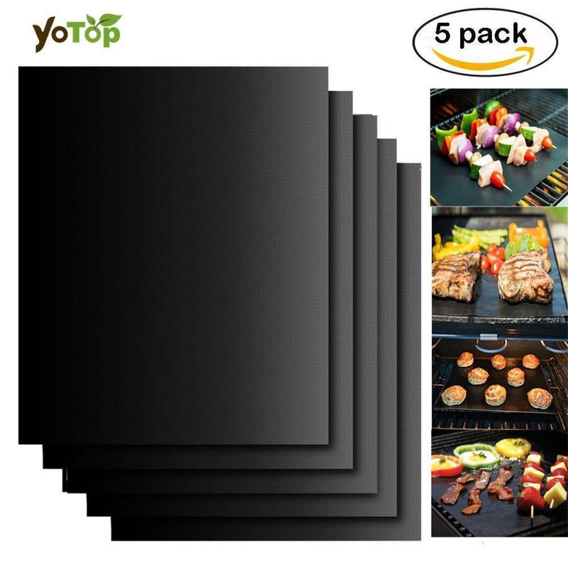 Nonstick Kitchen Hot Pad Grill Mat Grill Cooking BBQ