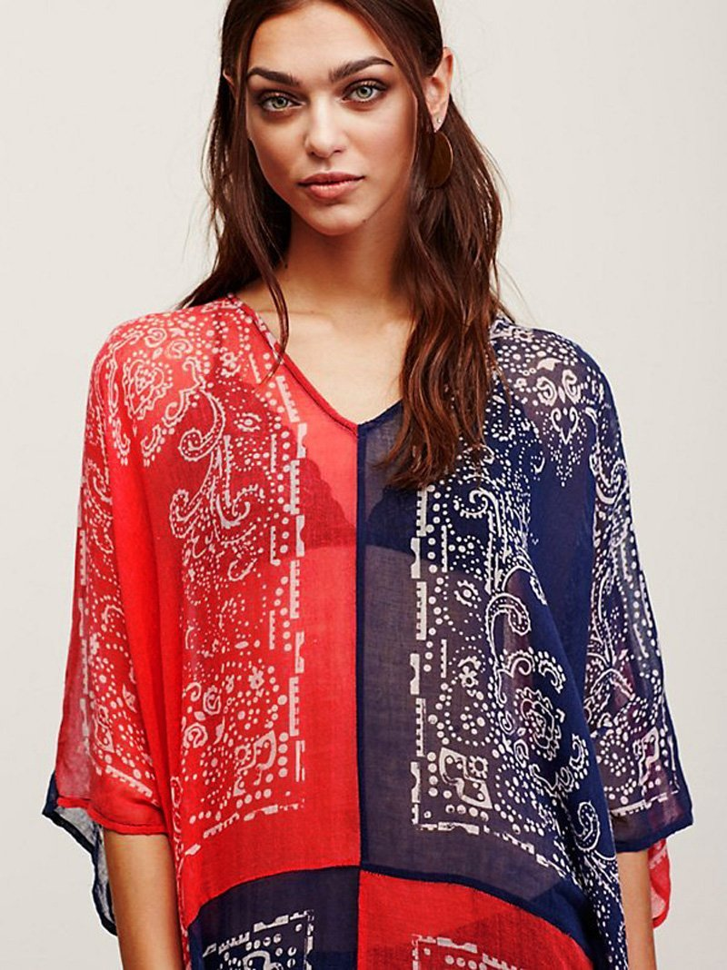 Love in Thailand Boho Beach Cover Up