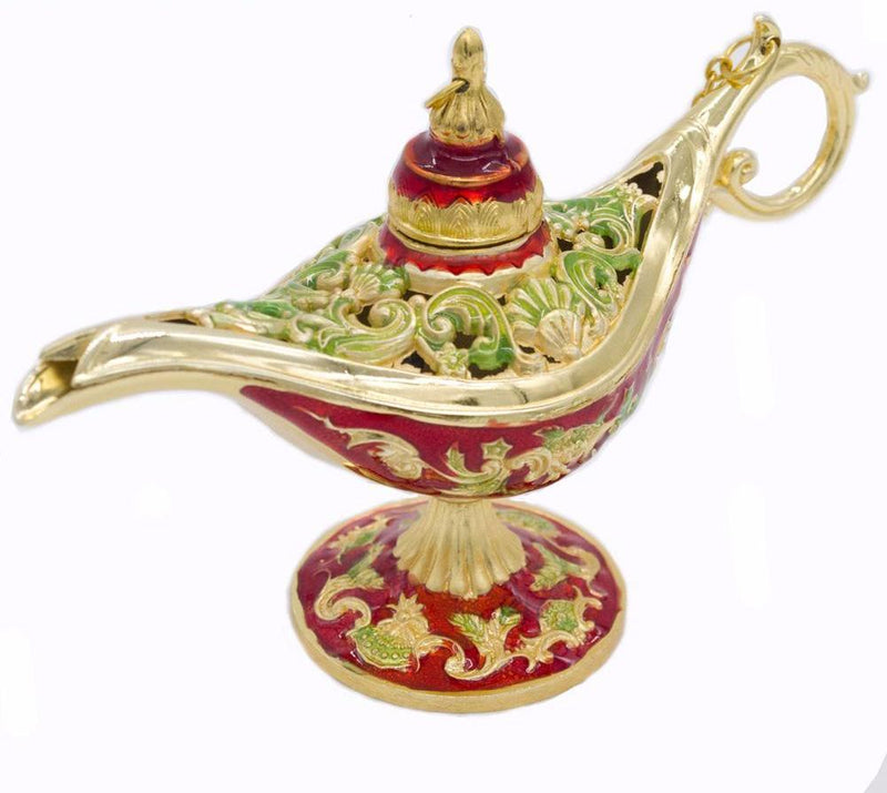 Gift Christmas Toy Miniature Incense Wishing Room Home Metal Decoration