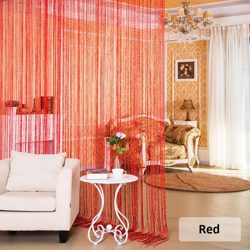 Tassels String Sequins Glitter Fringe Doorway Curtain Blinds