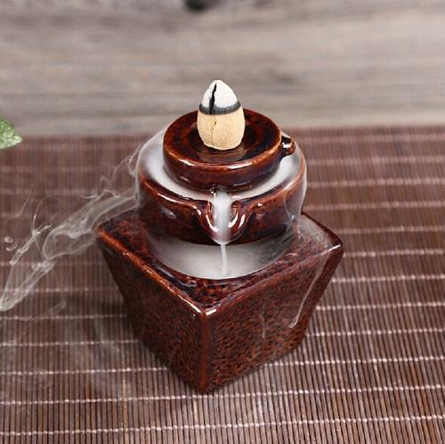 Yoga Meditation Incense Home Holder Gypsy Fragrance Burner Boho Aromatherapy