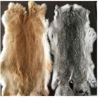 Animal Gift Skin Rug Rabbit Natural Home Genuine Fur Faux Decoration