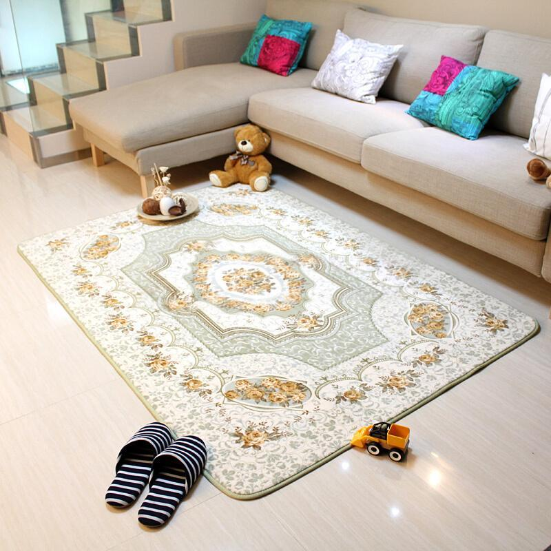 European style Living Room Rugs