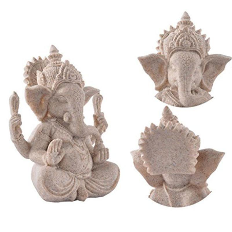 Handmade Indian Good Fortune Elephant Sculpture