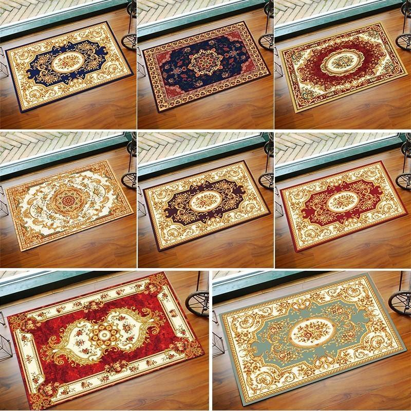 Rug Modern Magic Home Floral Floor Door Decoration Carper Boho Bathroom