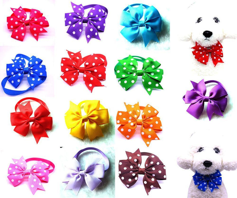 Accessories Ribbon Puppy Pet Neck Leash Dog Cute Collar