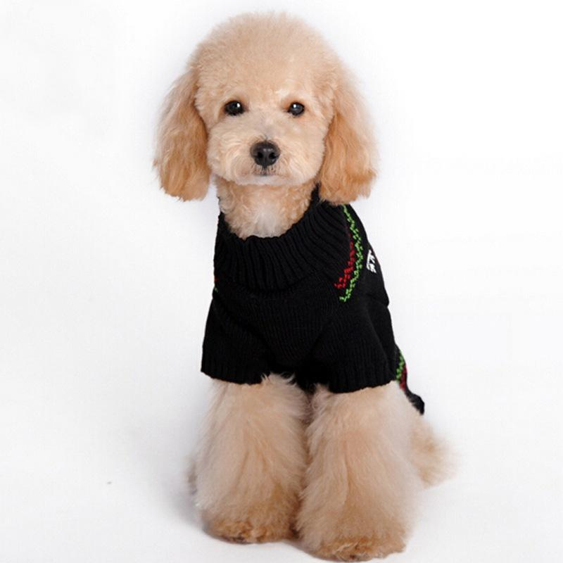 Holiday Christmas Dog Winter Sweater