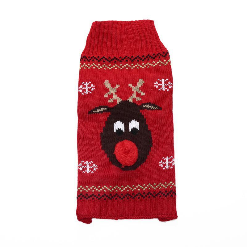 Coat Winter Warm Snowman Puppy Pet Holiday Gift Cute Christmas