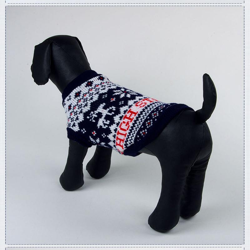 Winter Snow Flakes Holidays Dog Sweater
