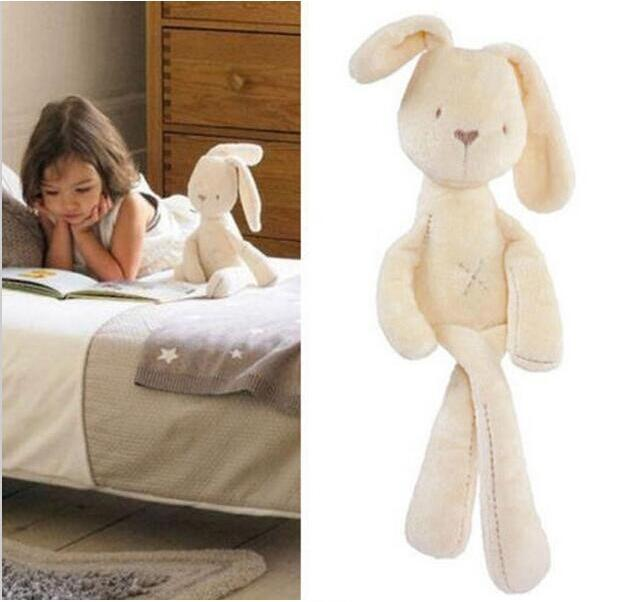 Bunny Warm Toy Soft Rabbits Plush Natural Kids Healthy Gift Cute Cuddling