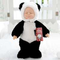 Girl Kids Christmas Holiday Gift New Born Panda Stuffed Plush Doll Baby