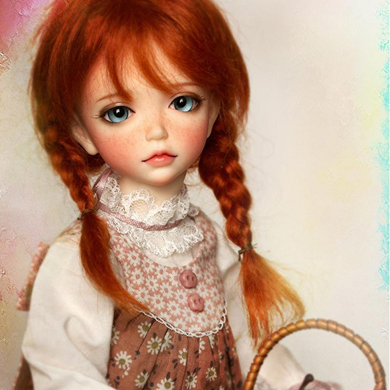 Luxury Eyes Big Japanese BJD DIY Collection Collect Cute Freckles