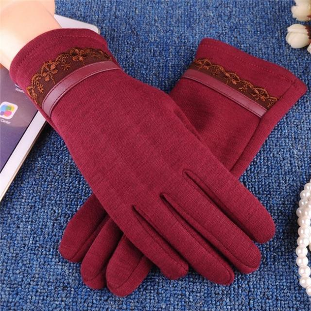 Winter Fur Classic Gloves