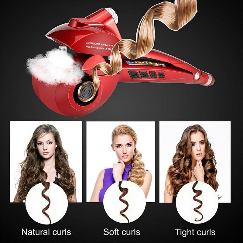 Hollywood Star Ceramic Hair Pro Heating Curler