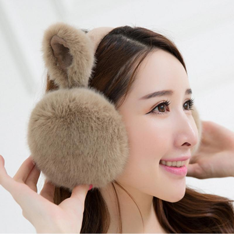 Winter Warm Valentine Snow Ski Rabbit Gift Ear Cute Cold